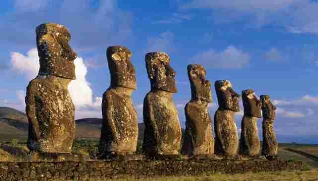 Σε τι χρησιμεύουν οι γίγαντες Μοάι στα Νησιά του Πάσχα;